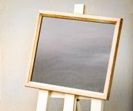 Panneau noir vide Image libre de droits