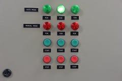 Panneau ou switchbox pour le contrôle des climatiseurs sur le constr Photos libres de droits