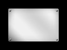 Panneau, panneau de signe, fond Photos stock
