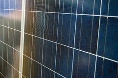 Panneau photovoltaïque Photos libres de droits