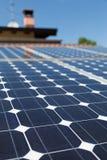 Panneau photovoltaïque photographie stock libre de droits