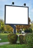 Panneau-réclame Photos libres de droits