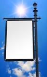 Panneau-réclame Photographie stock libre de droits