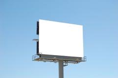 Panneau-réclame blanc carré photos stock