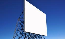 Panneau-réclame d'annonce Photographie stock libre de droits