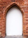 Panneau-réclame d'une vieille voûte Photo libre de droits