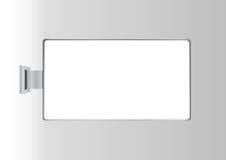Panneau-réclame de chrome Photographie stock libre de droits