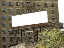 Panneau-réclame de ville photographie stock libre de droits
