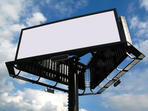 Panneau-réclame vide Images libres de droits