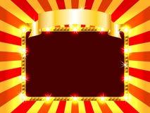 Panneau-réclame lumineux et d'amusement Photo stock
