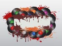 Panneau record sale Image libre de droits