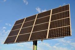 Panneau renouvelable d'énergie d'énergie solaire photos libres de droits