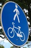 Panneau routier Photo libre de droits