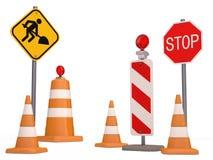 Panneau routier Image libre de droits