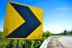 Panneau routier Photos stock
