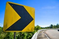 Panneau routier Photographie stock libre de droits