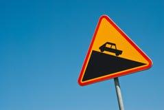 Panneau routier Photos libres de droits