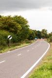 Panneau routier BRITANNIQUE de relais d'autoroute Photos stock