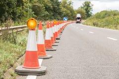 Panneau routier BRITANNIQUE de relais d'autoroute Photographie stock libre de droits