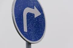 Panneau routier du trafic Image libre de droits