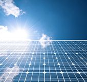 Panneau solaire Images stock