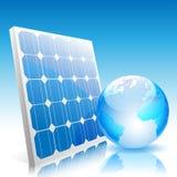 Panneau solaire Photo stock