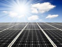 Panneau solaire Photos stock
