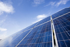 Panneau solaire Photo libre de droits