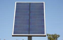 Panneau solaire Photographie stock libre de droits