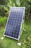 Panneau solaire de sigle Photos stock