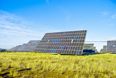 Panneau solaire picovolte photo libre de droits