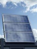 Panneau solaire simple Photographie stock