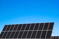Le panneau solaire Image libre de droits