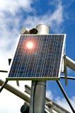 Panneau thermique solaire d'énergie de substitution  Photos stock