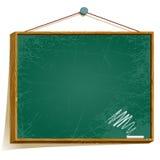 Panneau vert illustration stock
