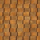 Panneautage décoratif abstrait - texture en bois Photos stock