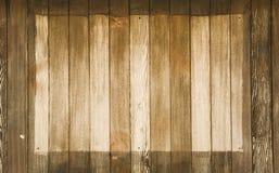Panneautage en bois Photos libres de droits