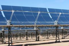 Panneaux à énergie solaire Photos libres de droits
