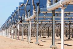 Panneaux à énergie solaire Photo libre de droits