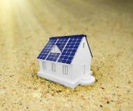 Panneaux à énergie solaire Photos stock