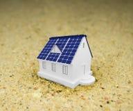 Panneaux à énergie solaire Photographie stock libre de droits