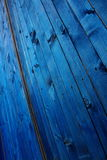 Panneaux bleus Photos stock