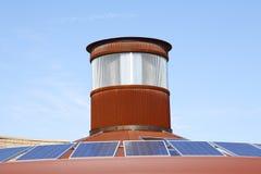 Panneaux d'énergie solaire Photos libres de droits