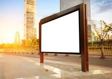 Panneaux d'affichage de bord de la route Photographie stock libre de droits