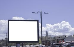 Panneaux d'affichage en parcs et extérieur image stock