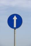 Panneaux d'avertissement de signalisation Images stock