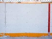 Panneaux d'hockey Photographie stock