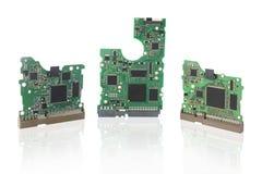Panneaux de carte PCB photographie stock