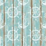 Panneaux de modèle sans couture de plate-forme de bateau illustration stock