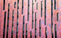 Panneaux de mur abstraits de bureau Images libres de droits
